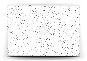 Small black dots on white Skin MacBook Air 13""
