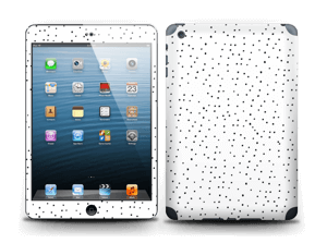 Points noirs sur blanc Skin IPad mini 2