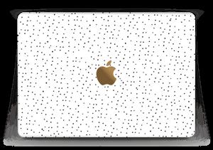 "Small black dots on white Skin MacBook 12"""
