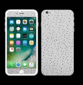 Prikker på grått Skin IPhone 6 Plus