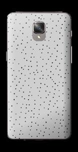 Prikker på grått Skin OnePlus 3