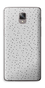 Harmaat pilkut tarrakuori OnePlus 3T