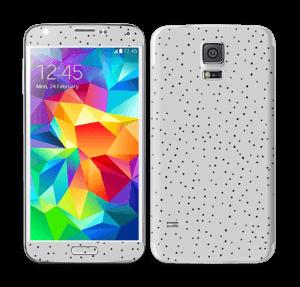 Harmaat pilkut tarrakuori Galaxy S5
