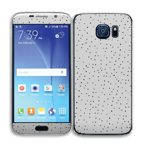 Prikker på grått Skin Galaxy S6