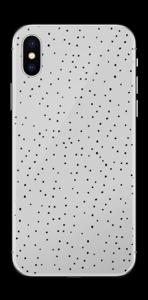 Lunares Gris vinilo  IPhone X