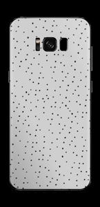 Prikker på grått Skin Galaxy S8 Plus