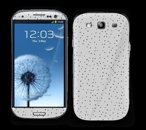 Prikker på grått Skin Galaxy S3