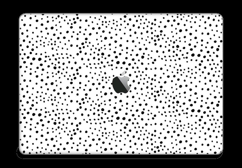 """Prikker på hvitt Skin MacBook Pro 15"""" 2016-"""