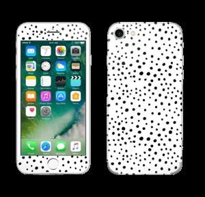 Prikker på hvitt Skin IPhone 7