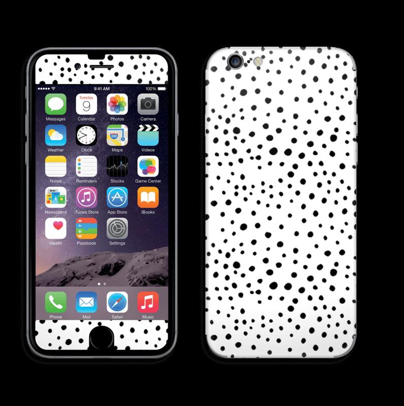 Prikker på hvitt Skin IPhone 6/6s