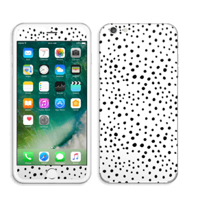 Prikker på hvitt Skin IPhone 6 Plus