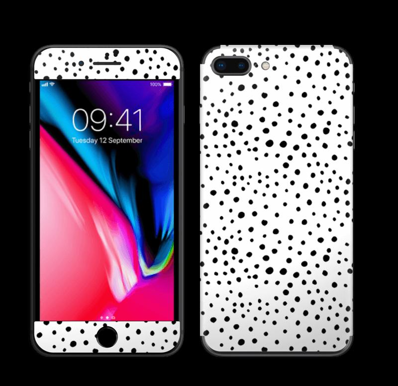 Prikker på hvitt Skin IPhone 8 Plus