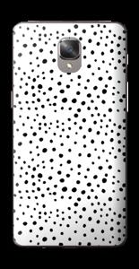 Prikker på hvitt Skin OnePlus 3