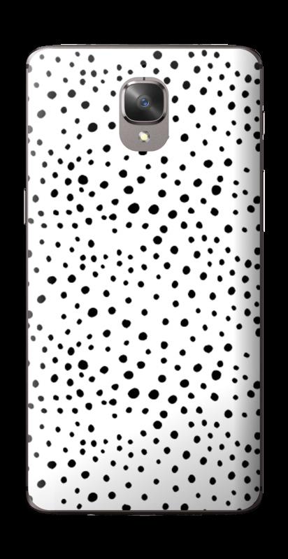 Prikker på hvitt Skin OnePlus 3T