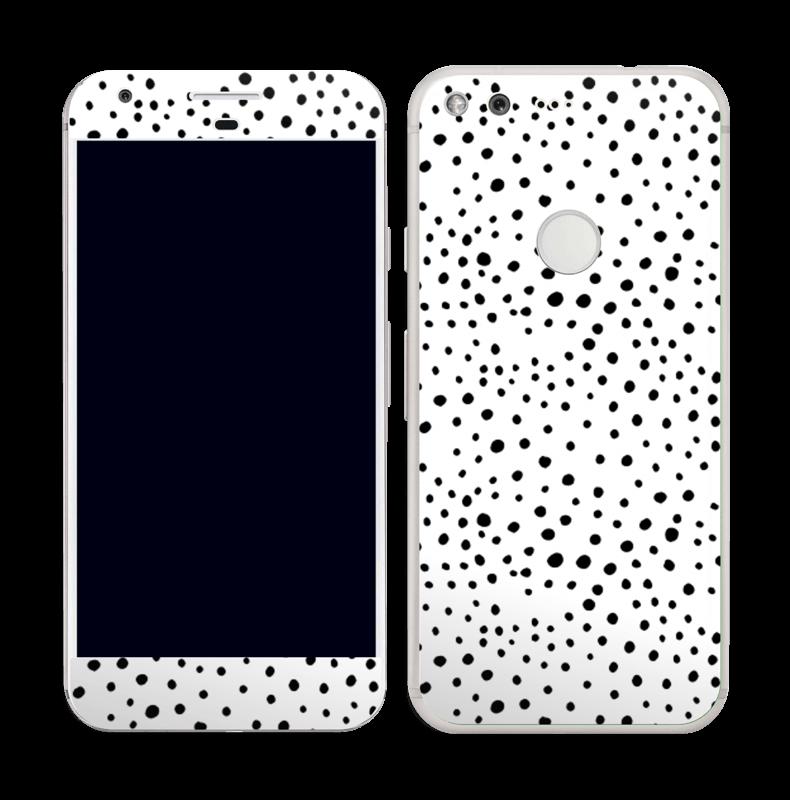 Prikker på hvitt Skin Pixel