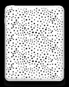 Valkoiset pilkut tarrakuori IPad 1