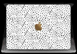"""Prikker på hvitt Skin MacBook 12"""""""