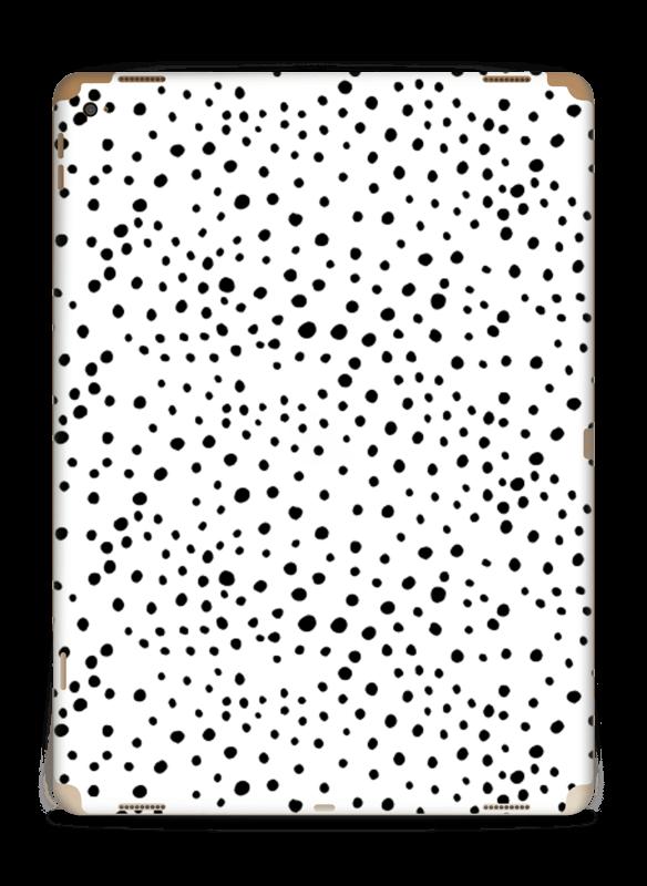 Prikker på hvitt Skin IPad Pro 12.9