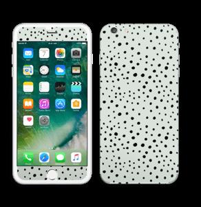 Prikker på grønt  Skin IPhone 6 Plus