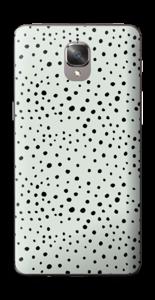 Prikker på grønt  Skin OnePlus 3T