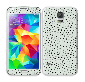 Various dots on green Skin Galaxy S5