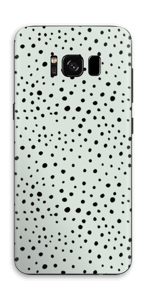 Various dots on green Skin Galaxy S8