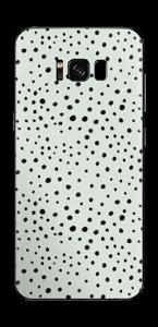 Prikker på grønt  Skin Galaxy S8 Plus