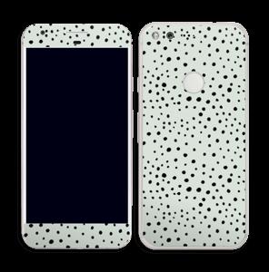 Prikker på grønt  Skin Pixel