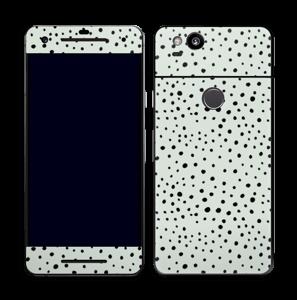 Prikker på grønt  Skin Pixel 2