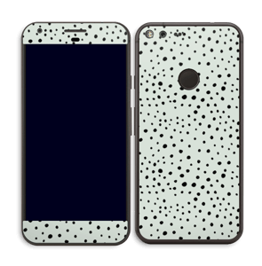 Prikker på grønt  Skin Pixel XL