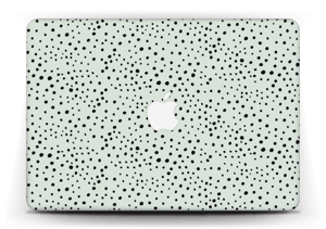 Various dots on green Skin MacBook Air 13""