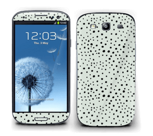 Prikker på grønt  Skin Galaxy S3