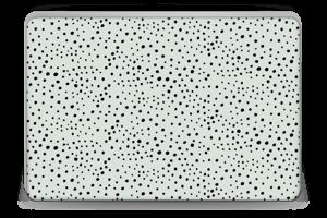 Punkte auf Grün Skin Laptop 15.6
