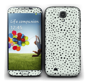 Various dots on green Skin Galaxy S4