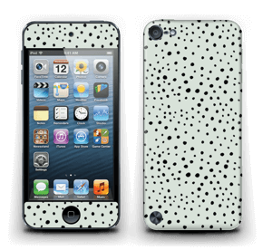 Various dots on green Skin IPod Touch 5th Gen