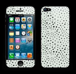 Prikker på grønt  Skin IPhone 5