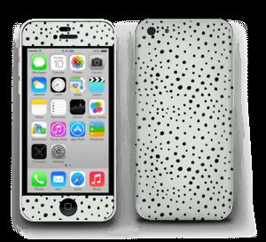 Prikker på grønt  Skin IPhone 5c