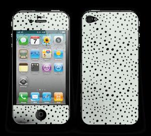 Punkte auf Grün Skin IPhone 4/4s