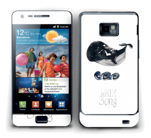 Whale song Skin Galaxy S2