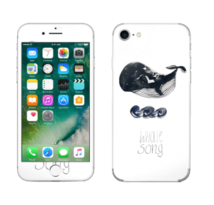 Whale song Skin IPhone 7
