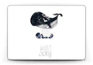 "Whale song Skin MacBook Pro Retina 13"" 2015"