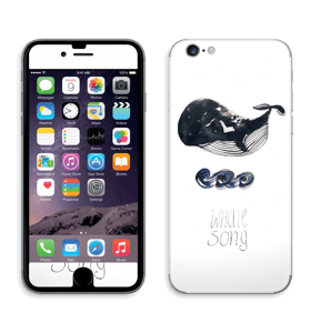 Whale song Skin IPhone 6/6s