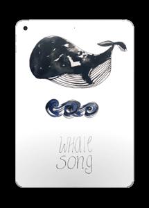 Whale song Skin IPad 2017