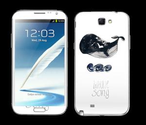 Whale Song tarrakuori Galaxy Note 2