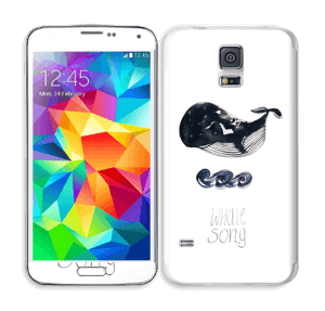 Whale song Skin Galaxy S5