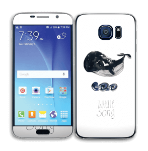 Whale song Skin Galaxy S6
