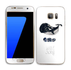 Whale song Skin Galaxy S7