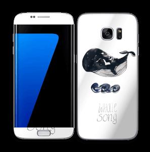 Whale song Skin Galaxy S7 Edge
