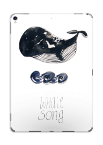 Whale song Skin IPad Pro 10.5