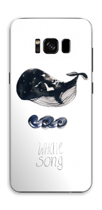 Whale song Skin Galaxy S8